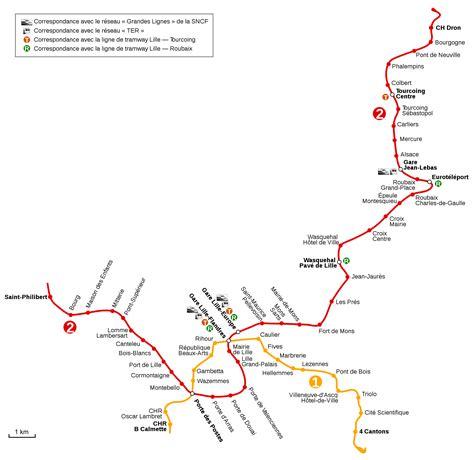 metro port de lille lille u bahn karte frankreich