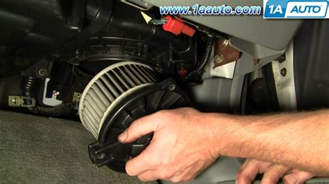 why is my ac fan not working how to install replace heater ac blower motor honda accord