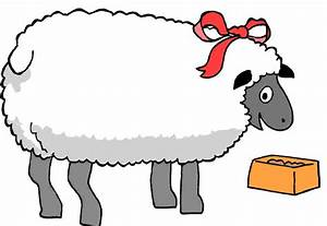 Sheep clipart black and white free clipart images 2 ...