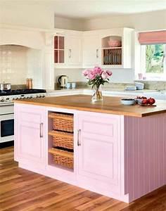 Ilot Cuisine Bois : comptoir de cuisine en bois rustique ~ Teatrodelosmanantiales.com Idées de Décoration