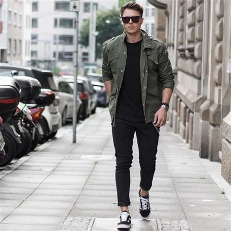 casual bomber army 20 awesome with vans styleoholic