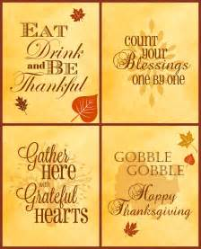 free thanksgiving printables 4 pack serendipity and spice
