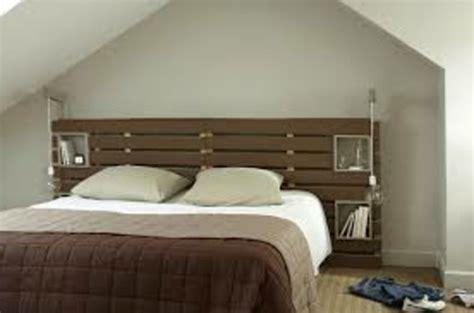 fabriquer un ilot central cuisine pas cher récup palettes 34 chambres à coucher la tête de lit palette