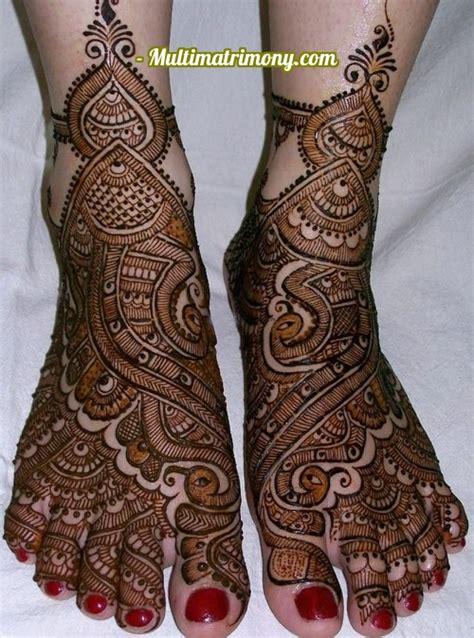bridal mehandi designs  foot multimatrimonycom multimatrimony tamil matrimony blog