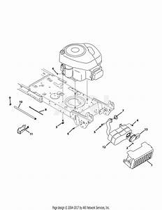 Mtd 13an775s000  2012  Parts Diagram For Engine