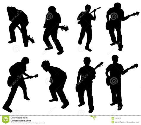 guitar man stock image image