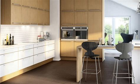Küche Helles Holz by 41 Moderne K 252 Chen In Eiche Helles Holz Liegt Im Trend