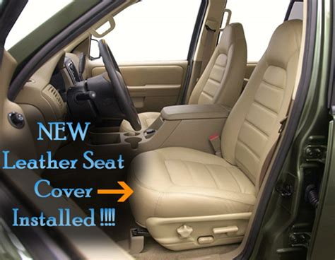 2002 Ford Explorer Leather Seat Covers