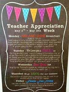 Teacher And Staff Appreciation Week 2014 | www.pixshark ...