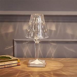 Luminaire Kartell : battery lampe cristal kartell d couvrez led jeancel ~ Voncanada.com Idées de Décoration