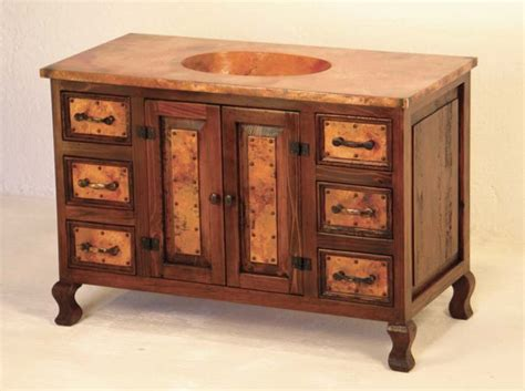 western style bathroom sinks western bathroom vanity cobre sink chest western bath