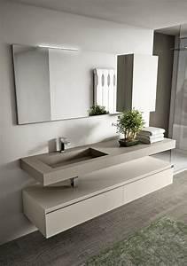 beau meuble salle de bain design luxe avec meubles design With salle de bain design avec meuble salle de bain en pierre