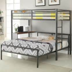 wildon home 174 twin over full l shaped bunk bed reviews