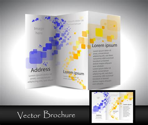 Template Brochure Illustrator by Brochure Template Free Vector In Adobe Illustrator Ai