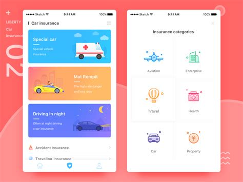 Are you tired of paying too much for auto insurance? Liberty insurance by Darren W. on Dribbble
