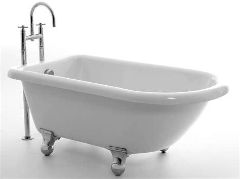 freistehende acryl badewanne freistehende badewanne chatham 150 aus acryl wei 223 gl 228 nzend 150 5x77x59 oval nostalgie