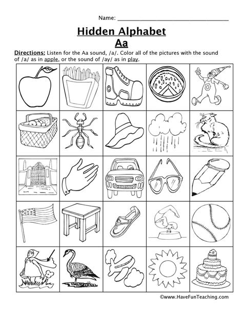 letter sounds worksheets  fun teaching