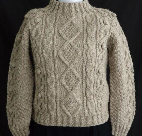 sweater knitting pattern aran sweater knitting patterns a knitting
