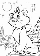 Coloring Disney Pages Adults Aristocats sketch template