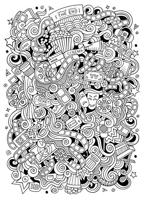 Doodle art to color for children - Doodle Art Kids