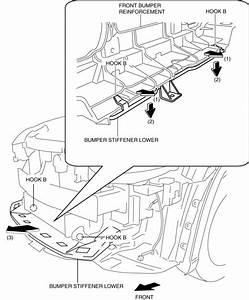 Mazda Cx-5 Service  U0026 Repair Manual - Bumper Stiffener Lower Removal  Installation