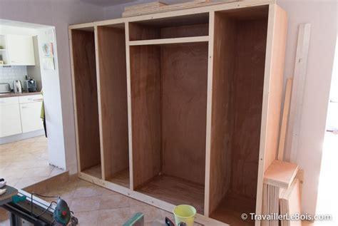 fabrication d un placard 6 232 me partie travailler le bois