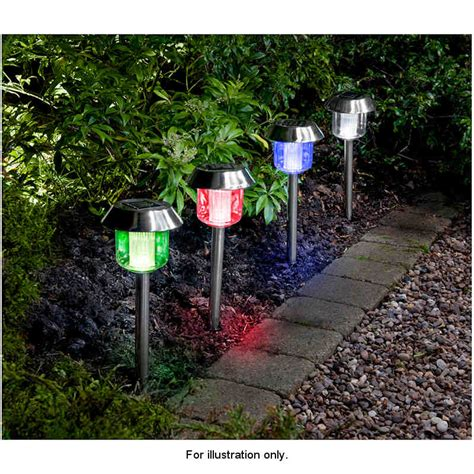 color changing solar garden lights outdoor solar colour
