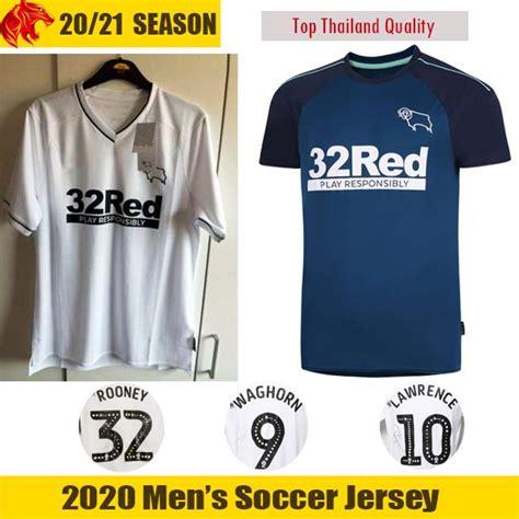 2020 20 21 Derby County Soccer Jerseys ROONEY 2020 2021 ...