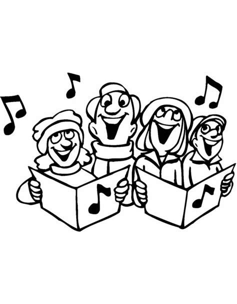 disegni da colo disegno di il coro da colorare per bambini