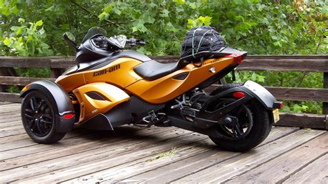 Can-am Spyder, Futuristic Design, Motorbike, Motorcycle