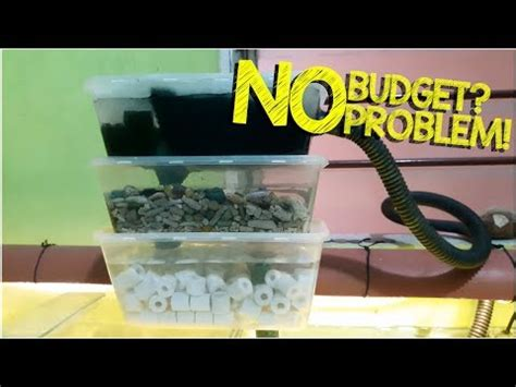 diy aquarium bottle filter cheap easy and awe doovi