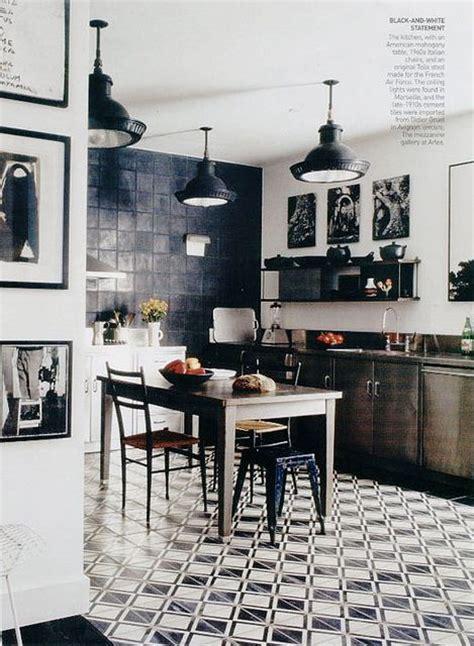 black and white tile kitchen floor gdzie kupić czarno białe płytki w marokańskie wzory 9286
