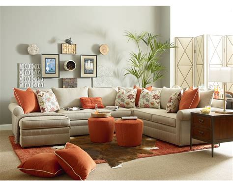 Living Room Furniture Portland concord sectional thomasville portland living room