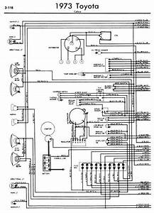 Toyota Celica A20 1973 Wiring Diagrams