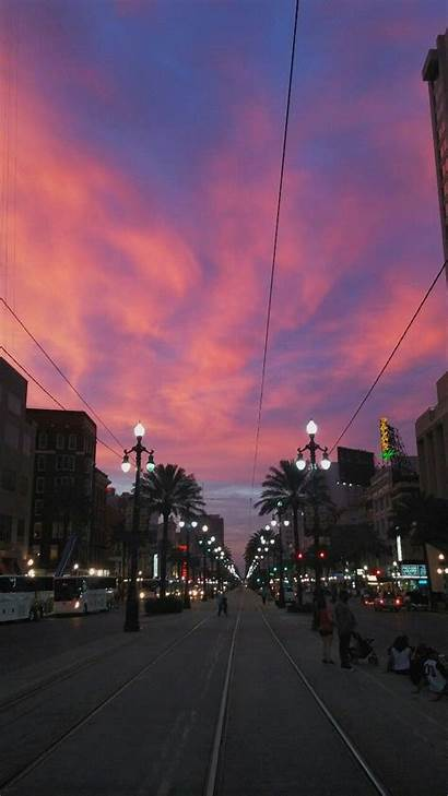 Orleans Sky Aesthetic Sunset Backgrounds Wallpapers Nola