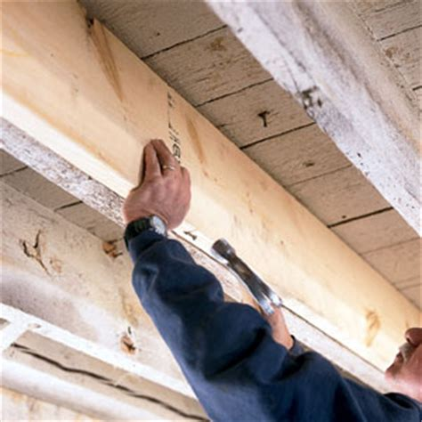 sistering floor joists with plywood stiffening bouncy floors toh pro this house 2