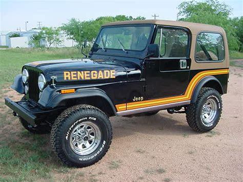 jeep cj renegade jeep cj renegade golden eagle stickers