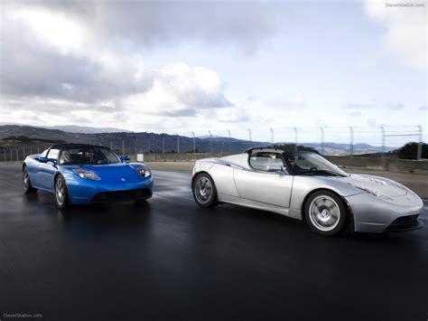 Tesla Roadster Sport Exotic Car Wallpapers 08 Of 72