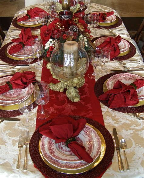 christmas table decoration instyle fashion