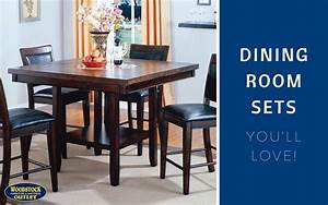 Discount dining room table sets discount dining room set for Woodstock furniture and mattress outlet reviews