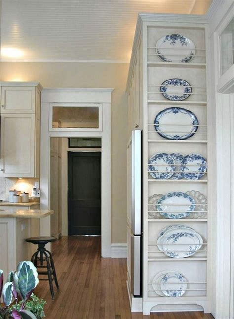 antique plate rack design ideas   vintage kitchen  art  life