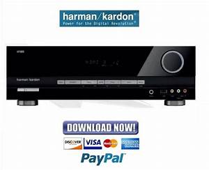 Harman Kardon Avr134 Service Manual  U0026 Repair Guide