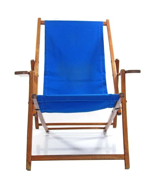 blue vintage adjustable chair for sale at pamono