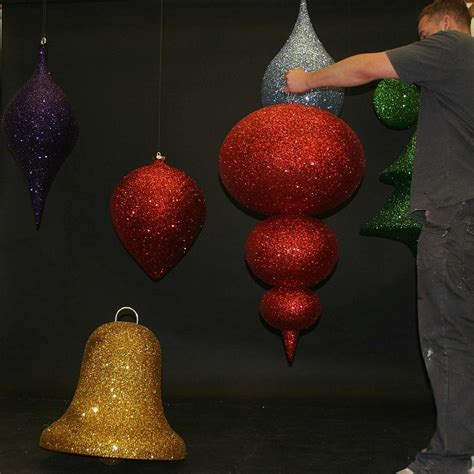 geodesic commercial christmas decorations  instore