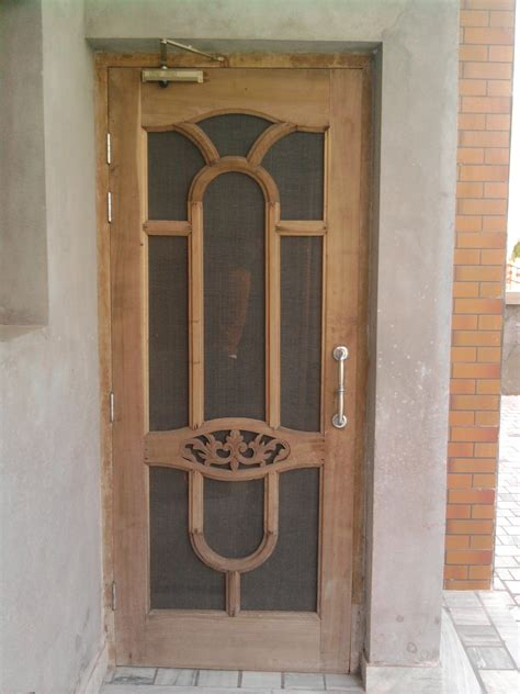 Home Door Design India by K K Wood Design Namol Sangrur Modren Wooden Door Design
