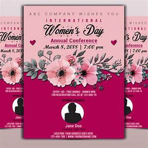 Free Leaflet Template Annual Womens Day Flyer Template For Free Download On Pngtree
