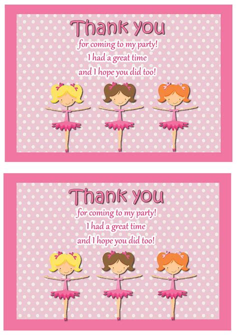 ballet   cards birthday printable