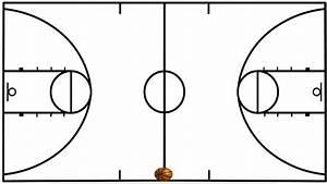 Clip Art Of Basketball Court  U2013 101 Clip Art