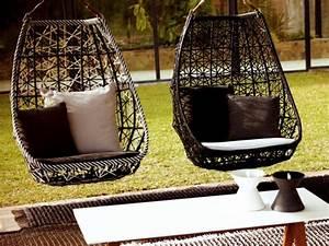Fauteuil Cocon Suspendu : fauteuils suspendus de jardin vos compagnons pour le repos ~ Teatrodelosmanantiales.com Idées de Décoration