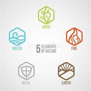 Lockere Erde Faules Holz : 5 elemente der zyklusnatur mit kreiszeichen wasser holz feuer erde metall im ~ A.2002-acura-tl-radio.info Haus und Dekorationen